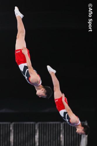 2019 トランポリン 世界選手権 男子 シンクロ 予選