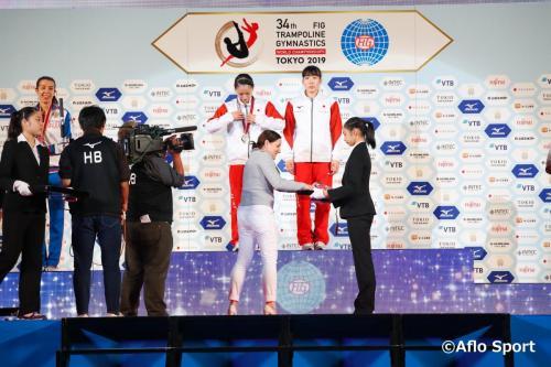 2019 トランポリン 世界選手権 女子 シンクロ 決勝
