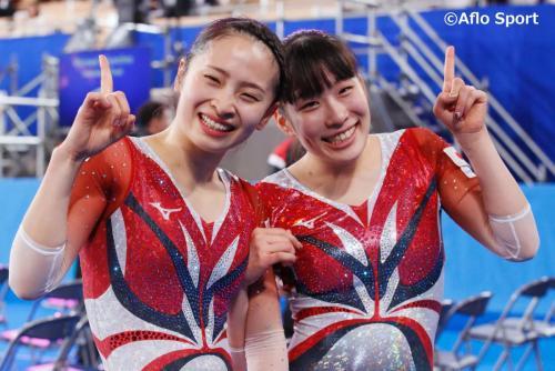 2019 トランポリン 世界選手権 女子 シンクロ 決勝 日本が優勝