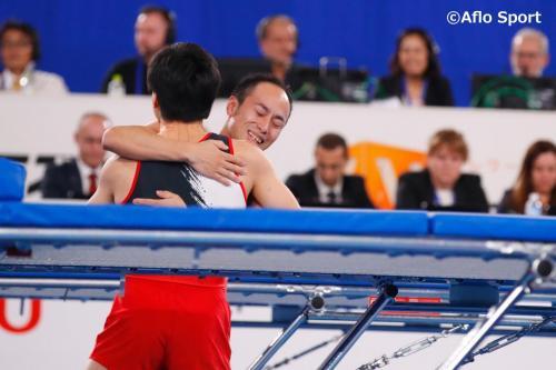 2019 トランポリン 世界選手権 男子 シンクロ 決勝 日本が優勝