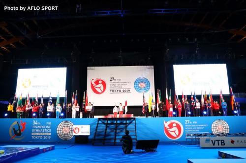 2019 トランポリン 世界年齢別競技大会 開会式