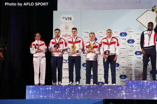 Men's Tumbling Team RUS