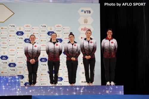 Women's Trampoline Team CAN