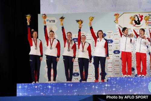 Women's Trampoline Team GBR