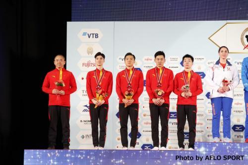 Men's Trampoline Team CHN