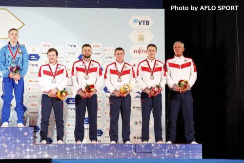 Men's Trampoline Team RUS