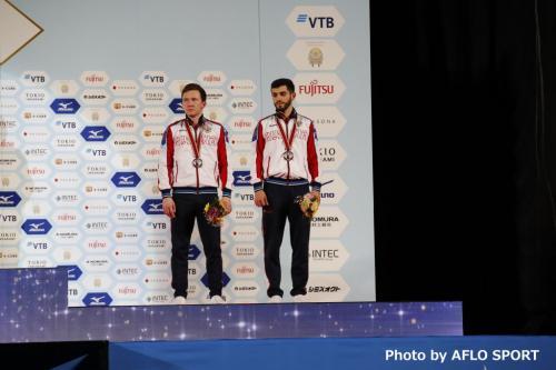 Men's Synchronised Trampoline RUS2